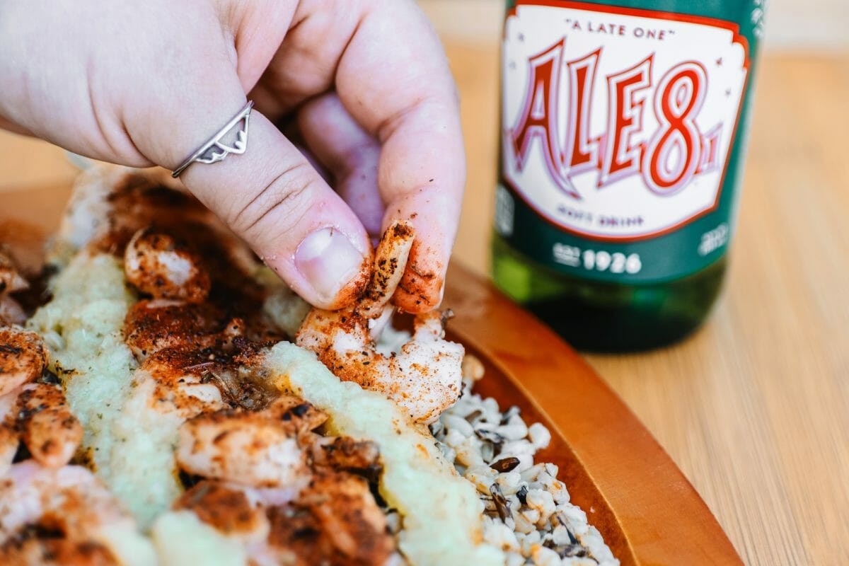 Ale 8 One Spicy, Easy Pineapple Sauce - Perfect for Shrimp