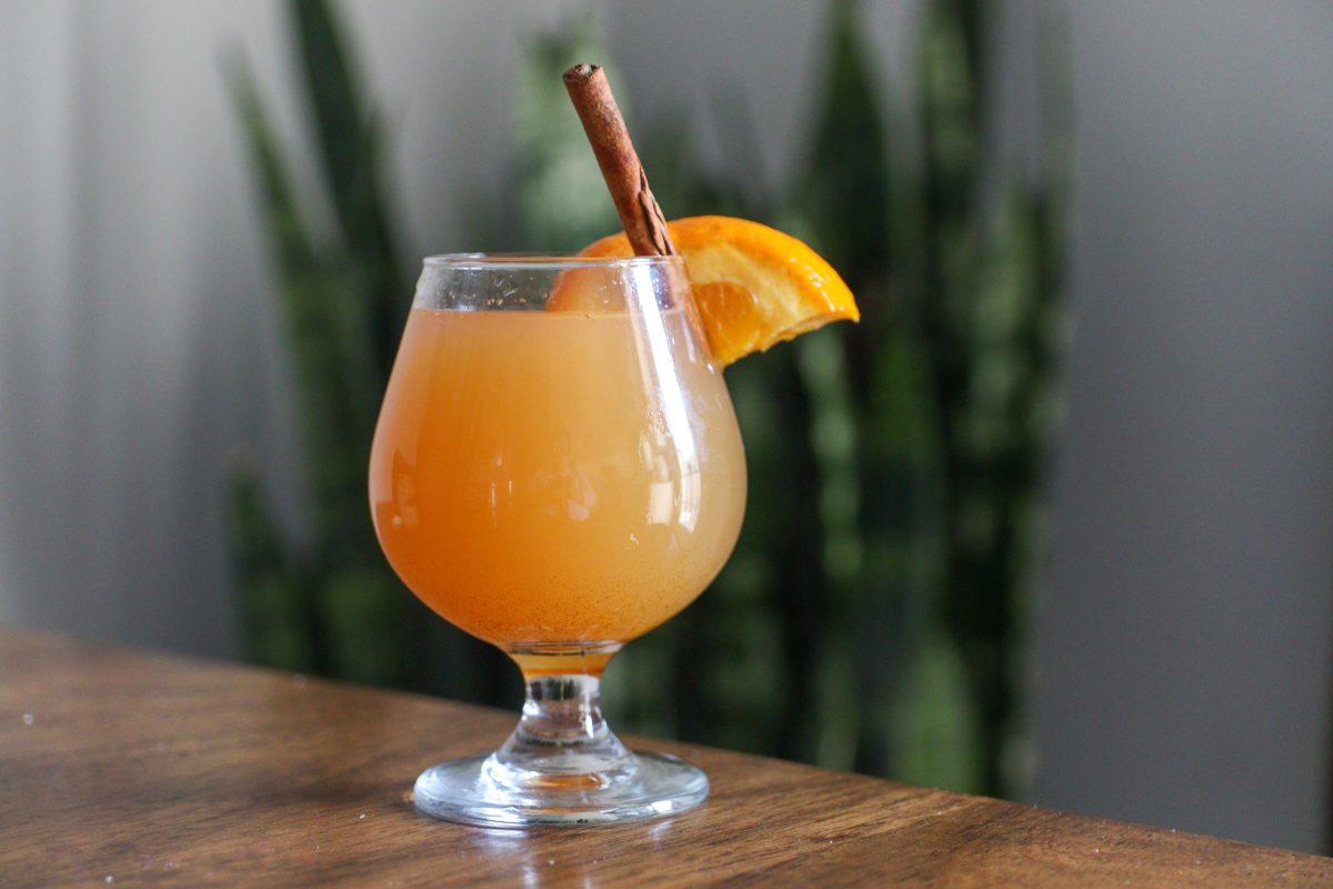 Bourbon Mulled Cider