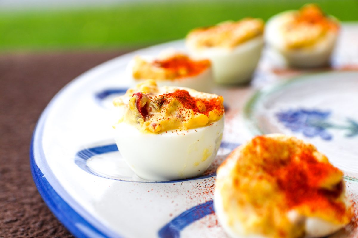 The Ultimate Southern Deviled Egg